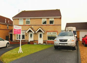 Thumbnail 3 bedroom semi-detached house for sale in Uplands Close, Crook