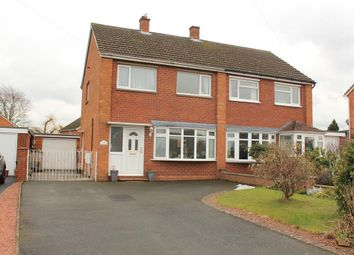 Thumbnail 3 bed semi-detached house for sale in Sutton Road, Sutton Farm, Shrewsbury