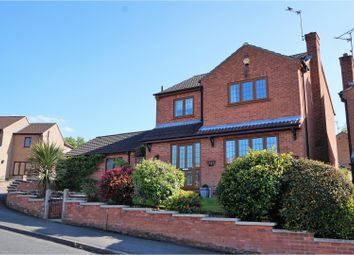 Thumbnail 3 bed detached house for sale in Haddon Road, Ravenshead, Nottingham