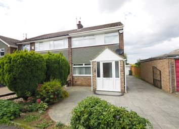 Thumbnail 3 bed semi-detached house for sale in Quorn Close, Guisborough