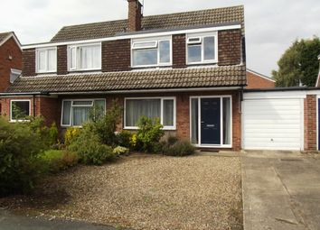Thumbnail 3 bedroom semi-detached bungalow for sale in Park Lane, Wilberfoss, York