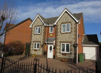 Thumbnail 4 bed detached house for sale in Saffron Road, Chafford Hundred, Grays