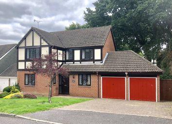 Thumbnail 4 bed detached house for sale in Cogdean Close, Corfe Mullen, Wimborne