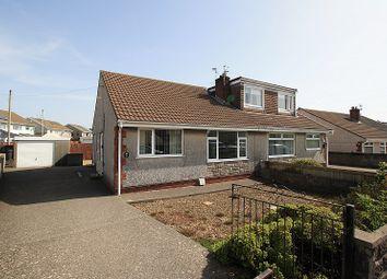 Thumbnail 2 bed semi-detached house for sale in Heol Undeb, Beddau, Pontypridd, Rhondda, Cynon, Taff.