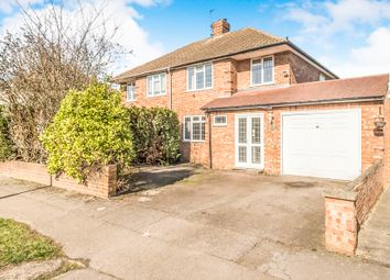 Thumbnail 3 bedroom semi-detached house for sale in Fairholme, Bedford