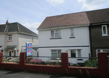 Thumbnail 2 bed semi-detached house for sale in Brynawelon, Coelbren, Neath, Neath Port Talbot.