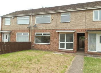 Thumbnail 3 bed terraced house for sale in Setterwood Garth, Willerby, East Yorkshire