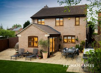 Thumbnail 5 bedroom detached house for sale in Glinton Road, Helpston, Peterborough