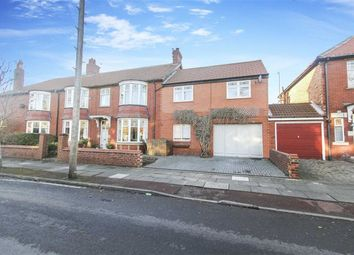 Thumbnail 5 bed semi-detached house for sale in Queens Road, Whitley Bay, Tyne And Wear