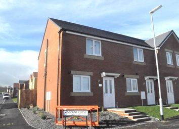 Thumbnail 2 bed semi-detached house to rent in Viscount Close, Stanley