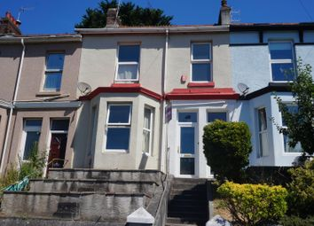 Thumbnail 2 bed terraced house for sale in Edgar Terrace, Plymouth