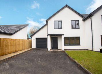 Thumbnail 4 bed semi-detached house for sale in Twiss Green Oaks, Twiss Green Lane, Culcheth, Warrington