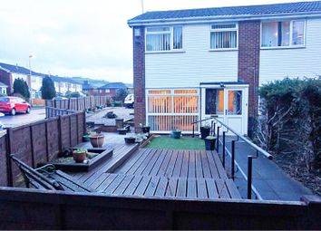 Thumbnail 3 bed semi-detached house for sale in Hanging Lees Close, Rochdale