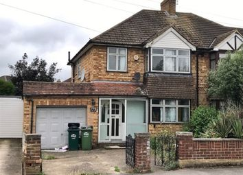 Thumbnail 3 bed semi-detached house for sale in Stanwell Road, Ashford