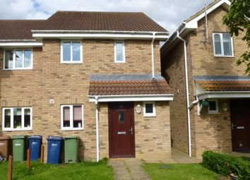 Thumbnail 2 bed semi-detached house for sale in The Croft, Christchurch, Wisbech, Cambridgeshire