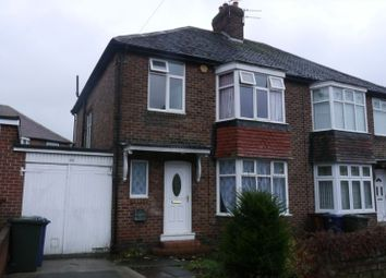 Thumbnail 3 bed semi-detached house to rent in Woodburn Avenue, Fenham, Newcastle Upon Tyne