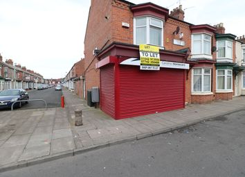 Thumbnail Retail premises to let in Crescent Road, Middlesbrough