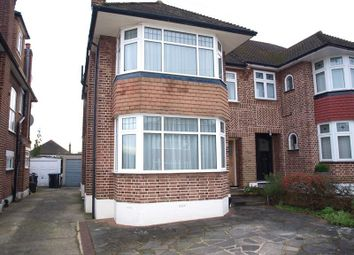 Thumbnail 3 bed semi-detached house to rent in Overton Road, London N14, Oakwood,