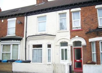 Thumbnail 3 bed terraced house to rent in St Matthews Street, Boulevard, Hull