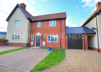 Thumbnail 3 bed semi-detached house for sale in Maxim Lane, Clare, Sudbury