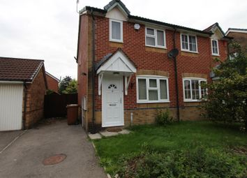 Thumbnail 2 bed semi-detached house for sale in Meadow Way, Caerphilly