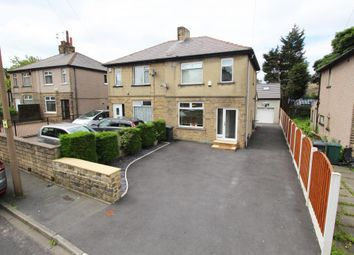 Thumbnail 3 bed semi-detached house for sale in Runswick Grove, Bradford