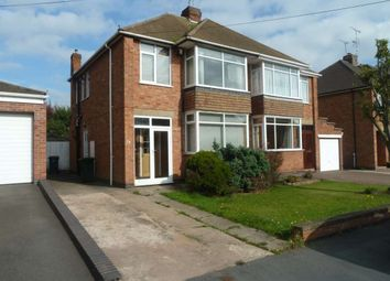 Thumbnail 3 bed semi-detached house for sale in Frobisher Road, Stivichall, Coventry