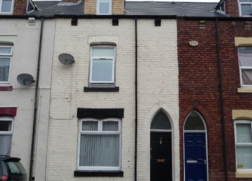 Thumbnail 3 bedroom terraced house to rent in Furness Street, Hartlepool