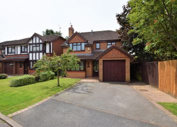 Thumbnail 4 bed detached house for sale in Clwyd Way, Ledsham Park