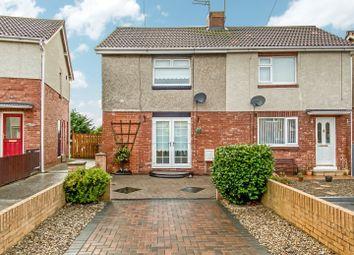 Thumbnail 2 bed semi-detached house for sale in Sheepwash Avenue, Choppington