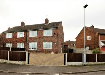 Thumbnail 3 bed semi-detached house for sale in Moorbridge Crescent, Brampton, Barnsley, South Yorkshire