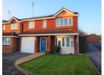Thumbnail 4 bedroom detached house for sale in Campbell Close, Galley Common