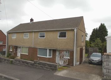 Thumbnail 3 bed semi-detached house for sale in Bronllan, Winch Wen, Swansea