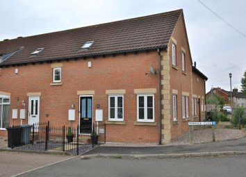 Thumbnail 2 bed town house for sale in Merrick Close, Great Gonerby, Grantham