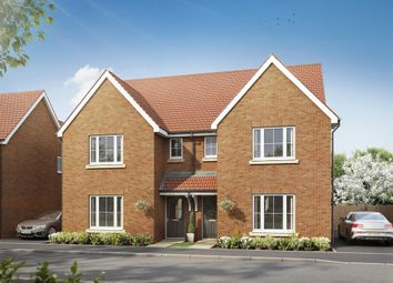 "Thumbnail 3 bedroom semi-detached house for sale in ""The Hatfield "" at Hollow Lane, Broomfield, Chelmsford"
