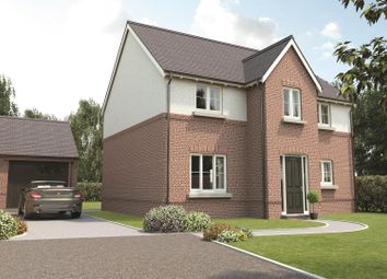 Thumbnail 4 bedroom detached house for sale in Church View, Hugglescote, Leicestershire