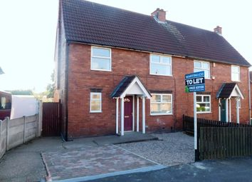 Thumbnail 3 bed semi-detached house to rent in Patterson Place, Mansfield