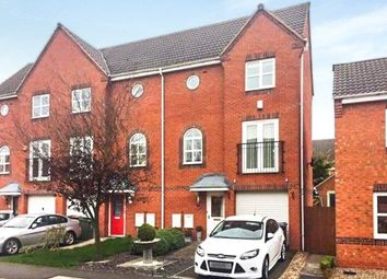 Thumbnail 3 bed terraced house for sale in Harker Drive, Coalville, Leicestershire