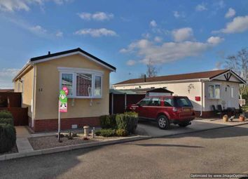 Thumbnail 2 bed mobile/park home for sale in Riverview, Church Laneham, Retford
