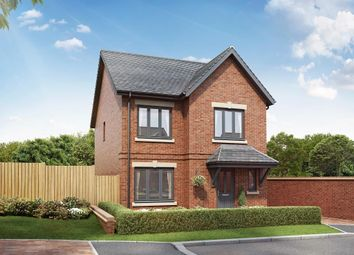Thumbnail 4 bed detached house for sale in The Bamburgh, Hazel Green, Bowerham Road, Lancaster