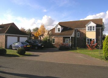 Thumbnail 4 bed detached house to rent in The Paddocks, Beck Row, Bury St. Edmunds