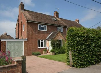 Thumbnail 4 bed semi-detached house for sale in Holt Road, Kintbury, Berkshire