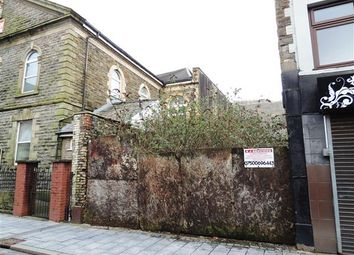 Thumbnail Land for sale in Hannah Street, Porth, Porth