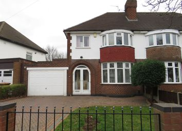 Thumbnail 3 bedroom semi-detached house for sale in Delves Crescent, Walsall