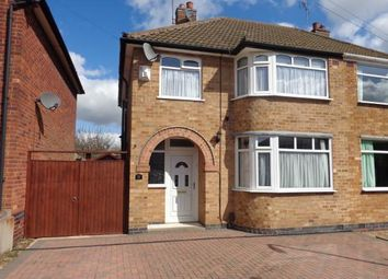 Thumbnail 3 bedroom semi-detached house for sale in Ryegate Crescent, Birstall, Leicester, Leicestershire