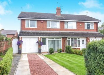 Thumbnail 3 bed semi-detached house for sale in Bateman Road, Lostock Gralam, Northwich, Cheshire