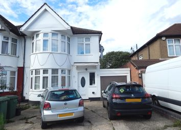 Thumbnail 4 bed semi-detached house to rent in Kenton Park Road, London