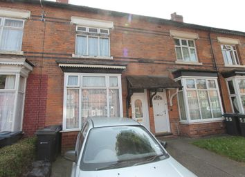 Thumbnail 3 bed terraced house for sale in Wilton Road, Birmingham
