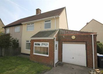 Thumbnail 3 bed semi-detached house for sale in Attlee Estate, Tow Law, County Durham
