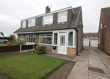 Thumbnail 3 bed semi-detached house for sale in Shetland Way, Urmston, Manchester